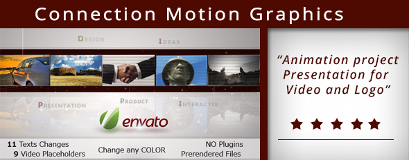 Conection Motion graphic