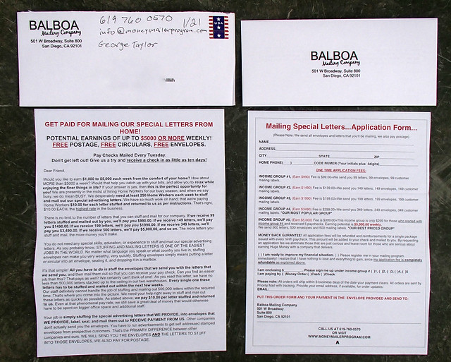 Balboa Mailing Company