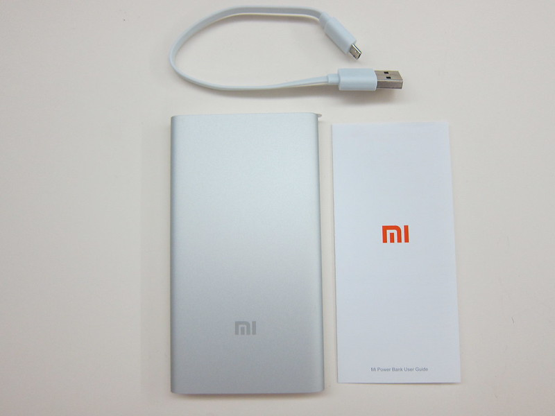 Xiaomi Mi 5,000mAh Power Bank - Box Content
