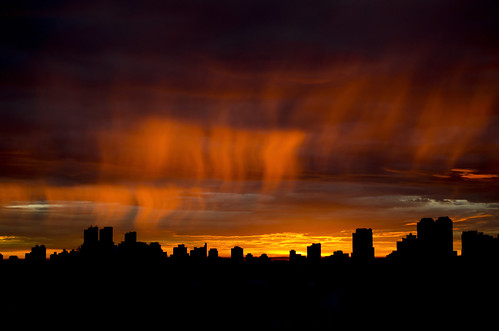 city summer sun brasil sunrise nikon sãopaulo céu pôrdosol sp nuvem entardecer serenidade d5100 ©matheuspallantephotographer