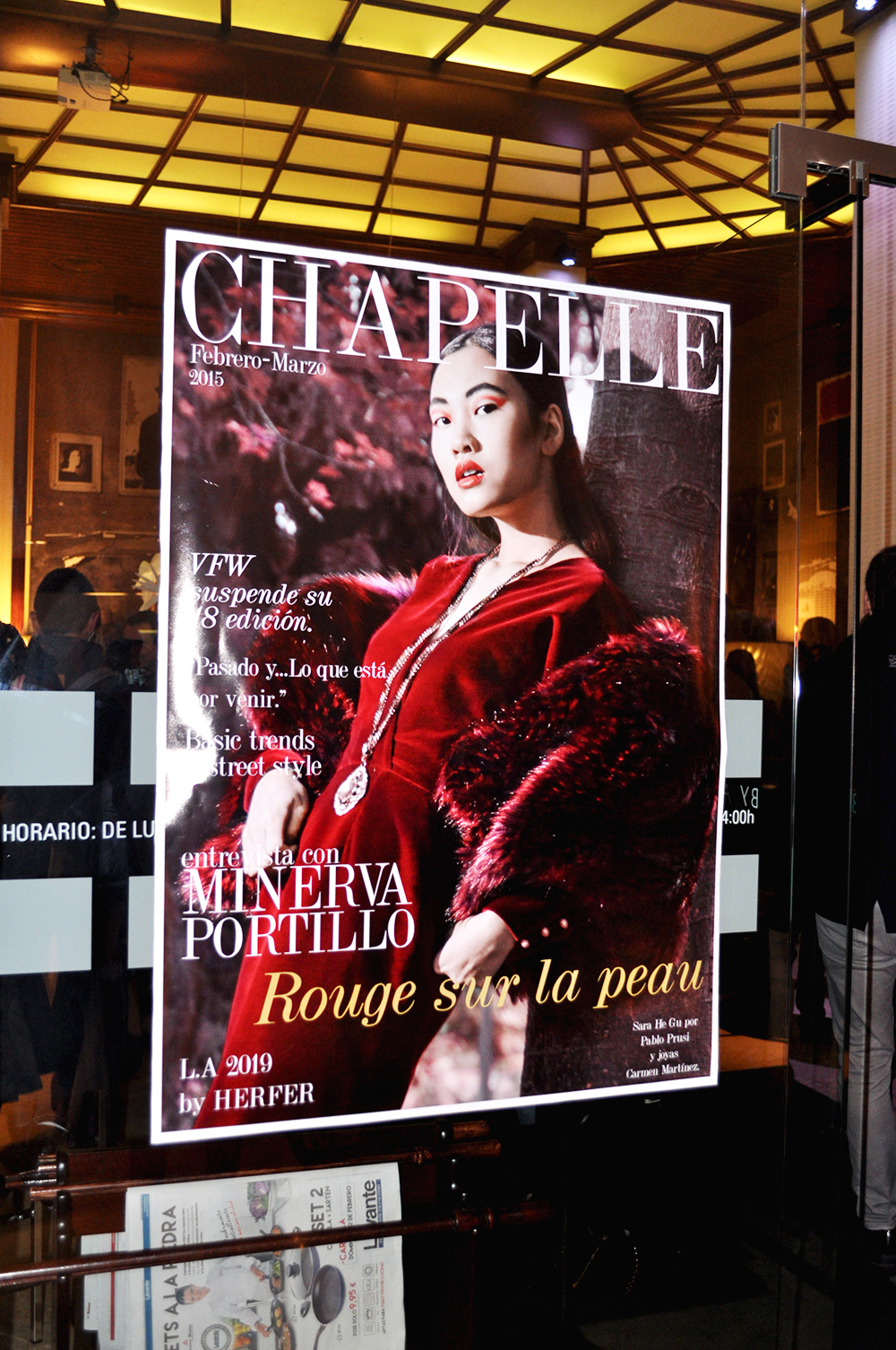 chapelle magazine valencia fashion diseñadores moda emergentes, something fashion blog, amanda r., astoria palace hotel launch party, evento valencia, e. jairycovich, revista chapelle