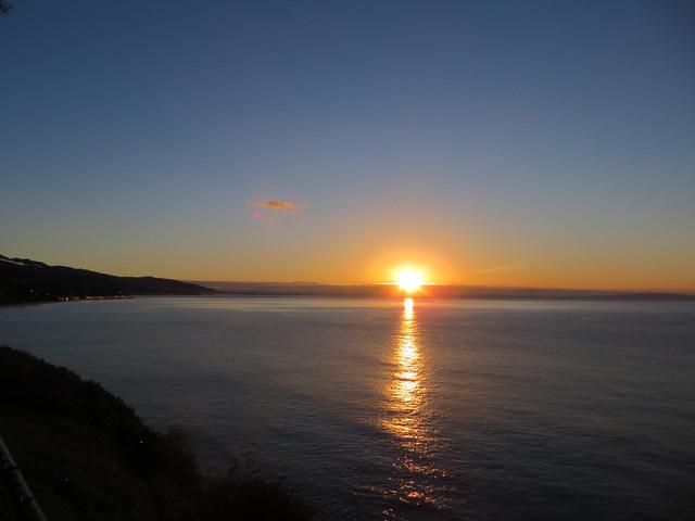 sun comes