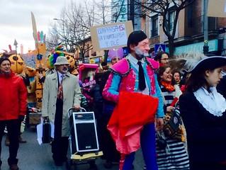 Comparsa Asamblea 15m - Carnaval 2015