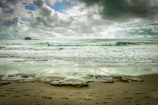 Bilde av Playa Maderas. ocean sky beach water clouds agua nikon eau pacific playa ciel cielo nubes nicaragua nuages plage pacifico oceano maderas d90