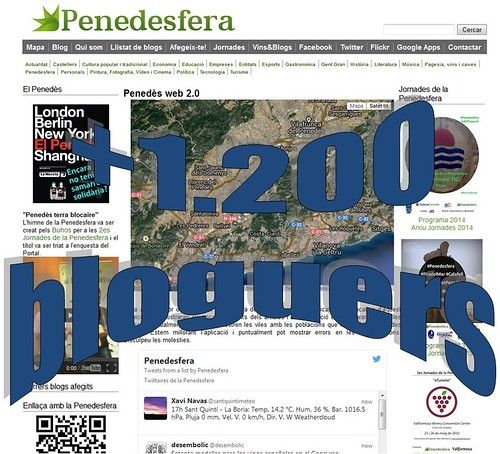 +1.200 bloguers a la Penedesfera