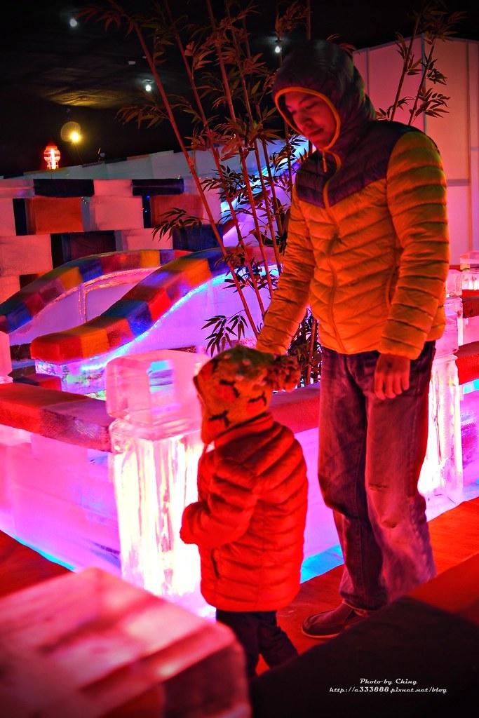 台中高鐵-2015正宗哈爾濱冰冰燈冰雕展-50
