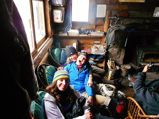 Backcountry Divas in the Cabin