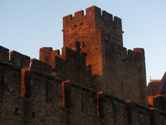 Sunset on the Battlements