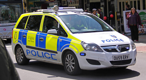 Thames Valley Police Vauxhall Zafira Dog Section - OU59 ERV