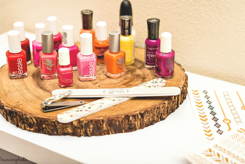 Honey Lemon manicure station #BigHero6Release