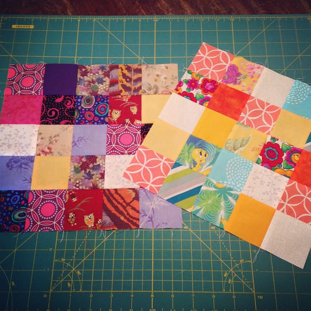 February bee blocks for @druidquilter just dropped off at the post office!! #beeeuropa