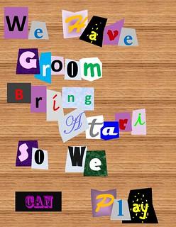 groom ransom