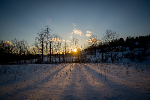 sunset vanishingpoint shadows