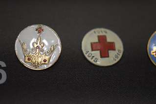 First World War red cross medals