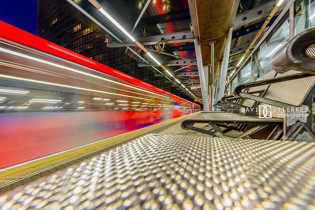 West India Quay DLR Station II, London, UK
