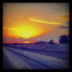 I have to admit, I've missed #Texas #sunsets a bit... #boondockamerica #missmartha #seatacinc