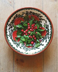 Summer Salad ... Greens Berries Fresh Produce Wild…