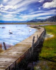 Jetty at Lake Kekesuli