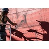 @marinacapdevila works as the sun goes down over #cransmontana #switzerland and #visionartfestival. #wallkandy #fb #f #t #p #art #painting #Cransmontanaabsolutely #art #artists #artfair #takingurbanarttonewheights #streetart #urbanart #mountains #openairf