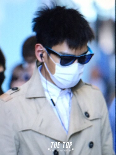 Big Bang - Beijing Airport - 05jun2015 - TOP - The TOP - 03