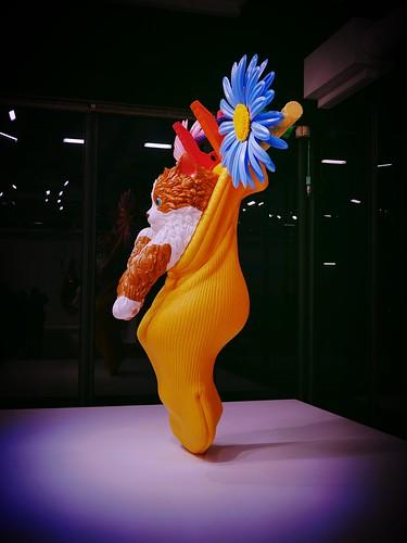 Exposition Jeff Koons au centre Georges Pompidou - Paris