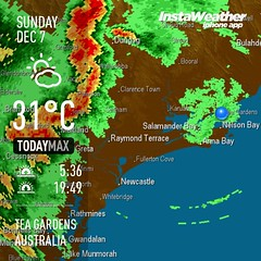 Here it comes #storm #weather #teagardens #australia #day #spring #au