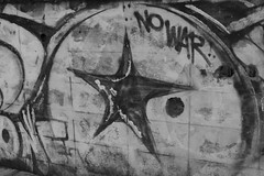 No War (b&w)