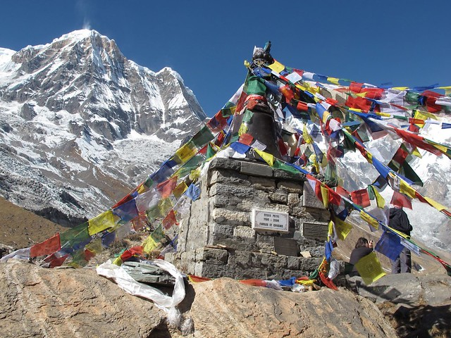 Annapurna Sanctuary Trek: Day 9 MBC to ABC