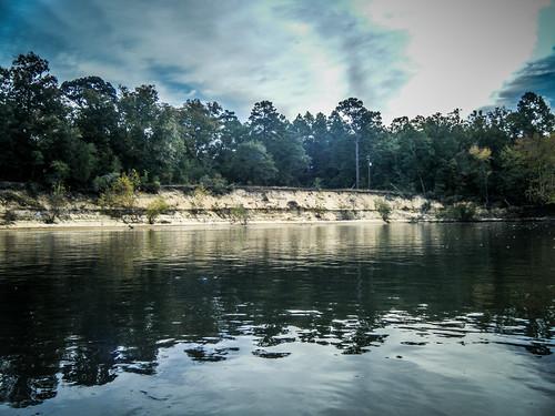 Savannah River from Stokes Bluff with LCU Nov 7, 2014, 4-18 PM Nov 8, 2014, 9-031