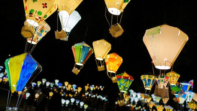 鐵花村音樂聚落 - 彩繪熱氣球