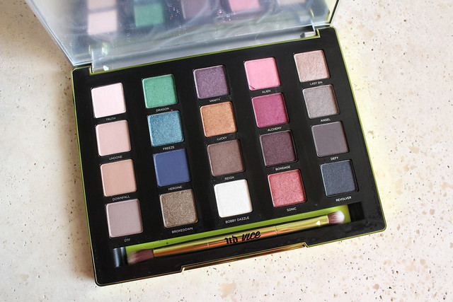 Urban Decay vice3 review