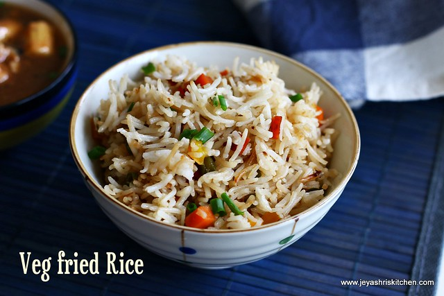Veg- fried rice