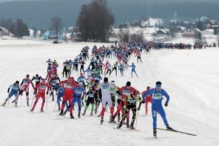Šumavský skimaraton Kooperativy je tady!