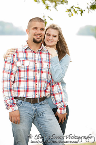 Brittany & Allen Lake Lanier Engagement