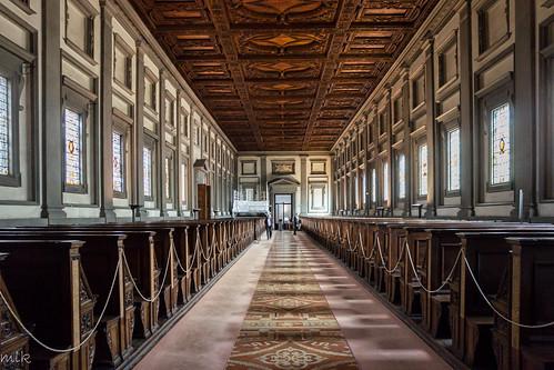 Biblioteca Medicea Laurenziana. Florence 2014