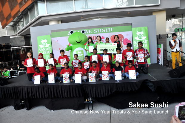 Sakae Sushi Chinese New Year Treats & Yee Sang Launch 1