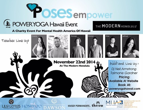 11/22 - DJ Neil Armstrong spinning for Power Yoga Hawaii @ The Modern