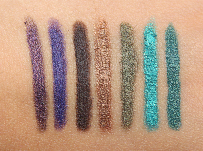 Wet n' wild pennor swatches
