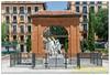 Madrid. Plaza del Dos de Mayo (Monumento a Daoiz y Velarde).