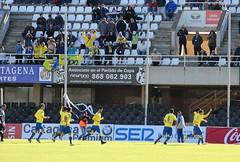 Segundo gol del Cádiz. Celebración (3)