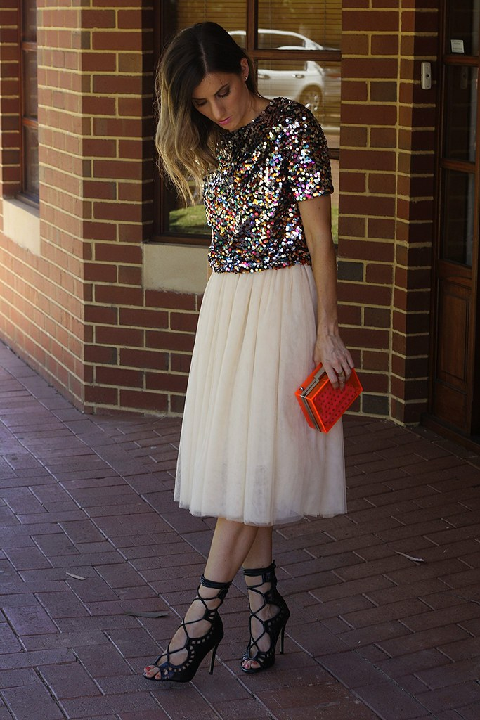 Sequin top from H and M