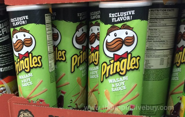 wordpress  spotted on shelves pringles exclusive flavor wasabi soy sauce