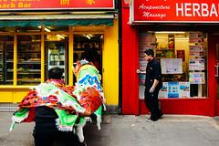 Lion Dance, Chinatown London