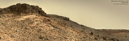MSL Panorama: Salsberry Peak