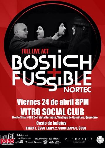 Nortec: Bostich + Fussible @Querétaro