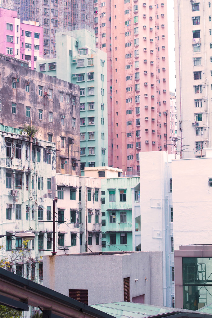 Buildings in Kennedy Town