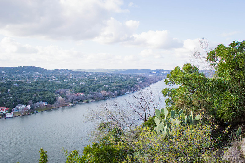View of Austin from Top of Mount Bonnell