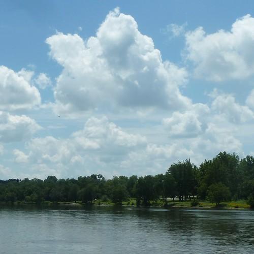 sky nature clouds river landscape foxriver genevail