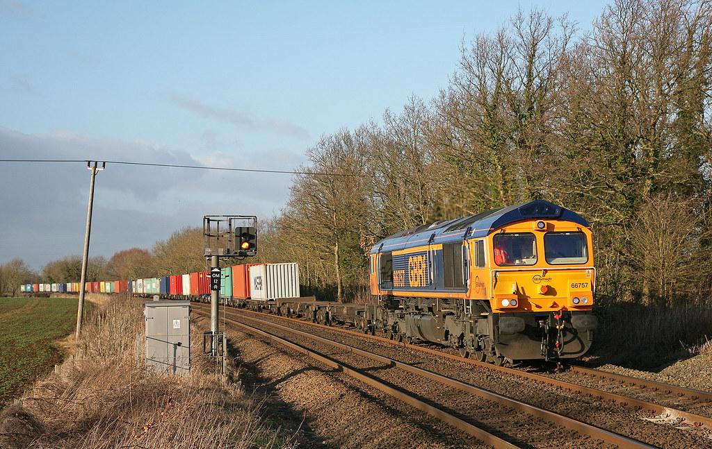 Egleton - 66757 on 4L20