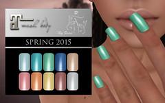 Maitreya - Spring 2015 Nails